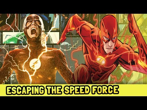 The Flash Escapes the Speed Force Flash Rebirth - The Thinker The Flash Season 4