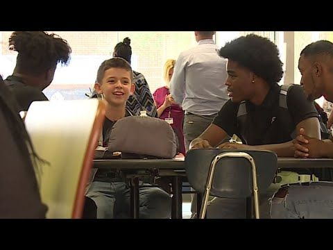 Hilary - Upperclassmen join bullied freshman during lunch