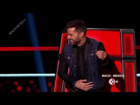 Ricky Martin en La Voz Mexico 4  Programa 6