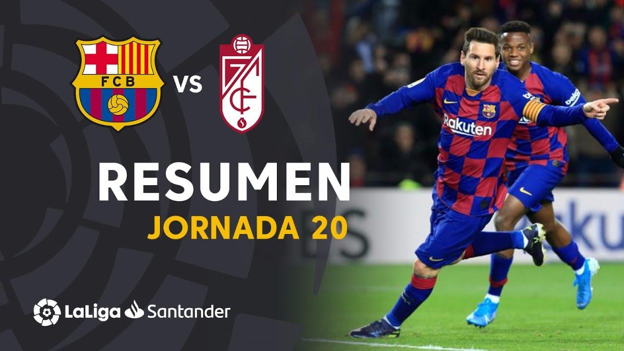 Highlights Fc Barcelona Vs Granada Cf 1 0 Youtube
