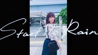 この前ナオト・インティライミさんの新曲「Start To Rain」MVに出演させ...