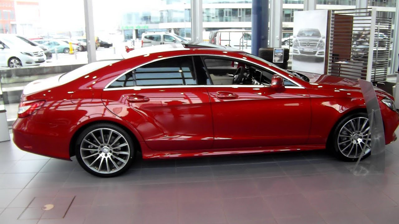2015 MercedesBenz CLS 350 Bluetec V6 4Matic AMG In Depth