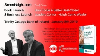 How To Be A Better Deal-Closer Book Launch