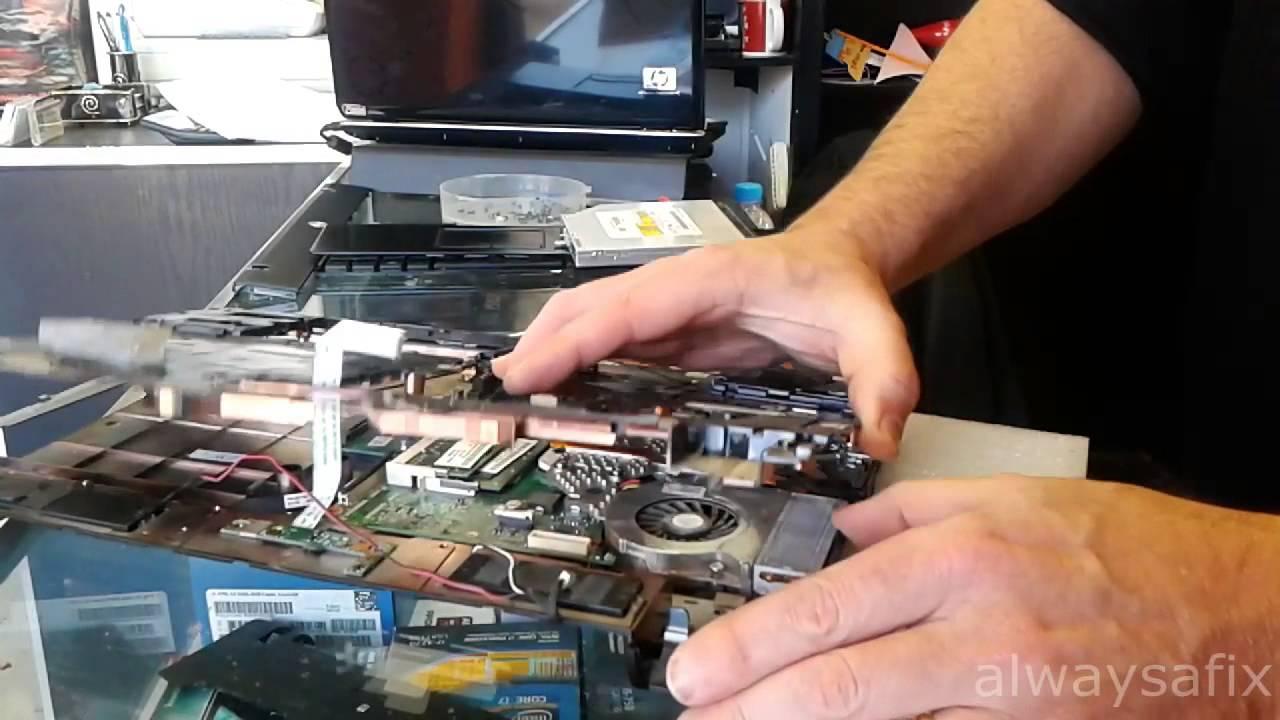 HP Probook black screen repair