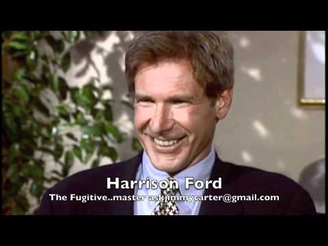 Harrison Ford interview with Jimmy Carter The Fugitive ...