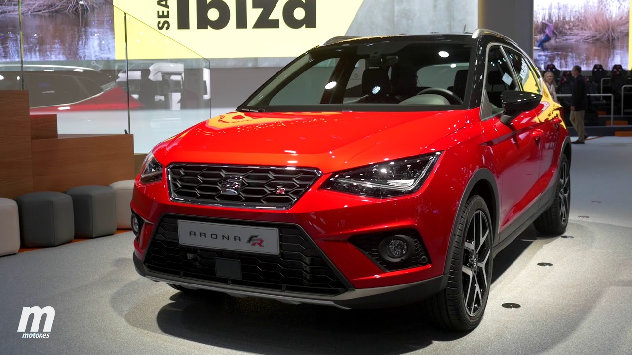 seat arona suv 2018 sal n de frankfurt review youtube. Black Bedroom Furniture Sets. Home Design Ideas
