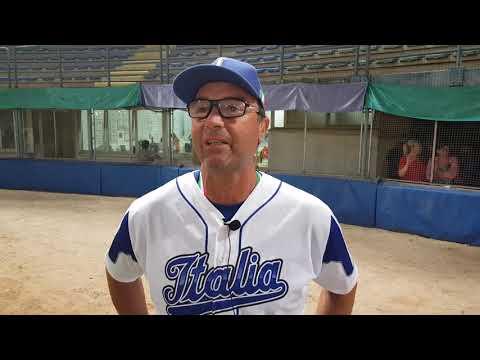 Europeo baseball U15: Roberto De Franceschi commenta la sconfitta in finale contro la Germania