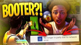 MY  SQUEAKER FORTNITE DUO PARTNER BOOTED ME OFFLINE AFTER COMING IN 2ND PLACE!! ! ( MUST WATCH)