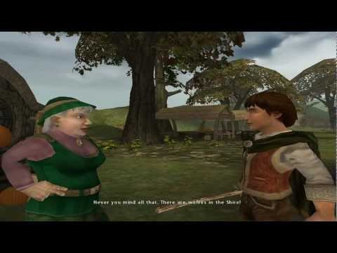 Lord of the Rings: The Fellowship of the Ring (PC) Part 1: The Shire