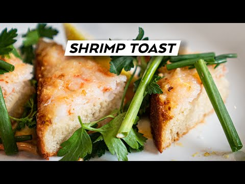 GRIND IT. SPREAD IT. FRY IT. How To Make Shrimp Toast