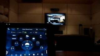 Control4 Home Automation - XBMC media center interface