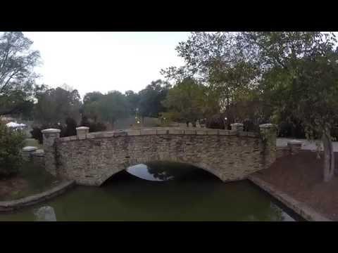GoPro Drone Freedom Park & Charlotte Skyline at Sunrise