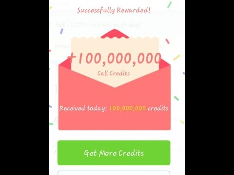 how to get unlimited credits in whatscall Urdu/Hindi