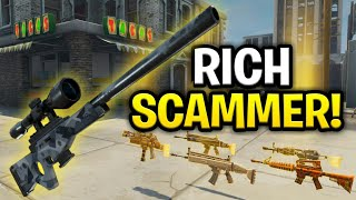 Download The Richest Scammer Ever Scams Himself! (Scammer Get Scammed) Fortnite Save The World Mp3 and Videos