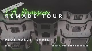 SYTHIX LA Mansion Remade Tour 601k || ROBLOX: Welcome to Bloxburg
