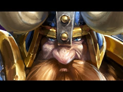 ♥ COUNTERING JIM RAYNOR w Muradin  Heroes of the Storm HotS Gameplay