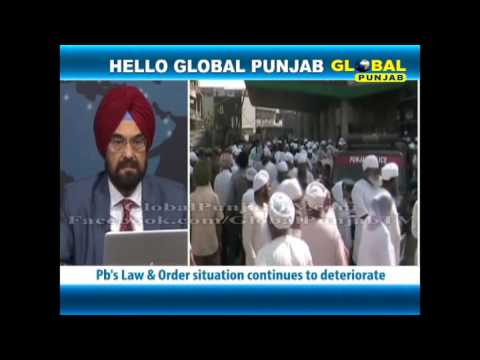 What should be done to control Punjab's worsening Law & Order situation?