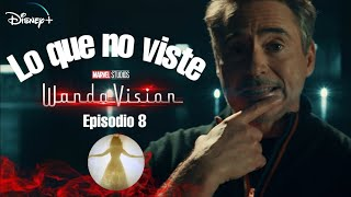 WANDAVISION Episodio 8 | Lo que no viste Referencias | Easter Eggs por Tony Stark