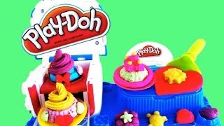 Play doh Sweet Shoppe Double Desserts двойной десерт Плэй до фабрика сладостей из пластилина.