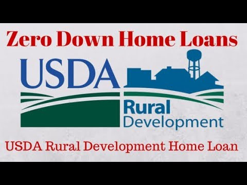 Buy A Home With No Money Down: USDA Rural Development Loan