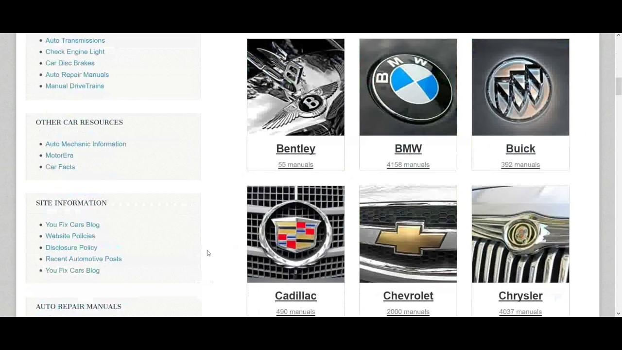 engine repair diagram pdf auto repair service manuals youtube  pdf auto repair service manuals youtube
