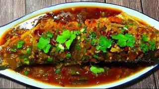 紅燒豆瓣魚的家常做法,不用油炸,魚肉鮮嫩...