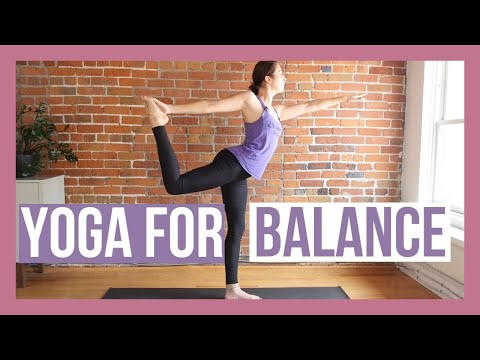 15 min Beginner Yoga for Balance & Stability