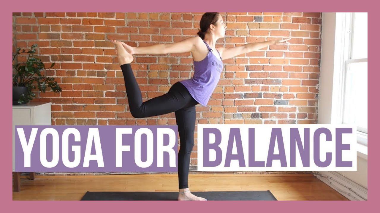 50 min Beginner Yoga for Balance & Stability