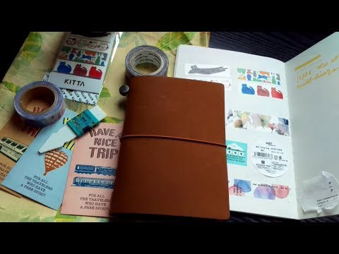 Japanese Stationery Haul! (Washis, traveler's company products at cute things from japan)