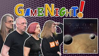 Dune: Imperium - GameNight! Se9 Ep24 - How to Play and Playthrough
