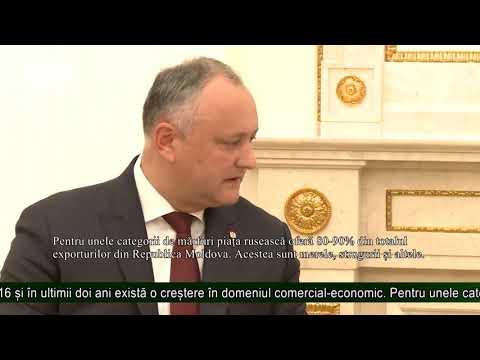 Taxele de export în Rusia a produselor moldovenești vor fi excluse