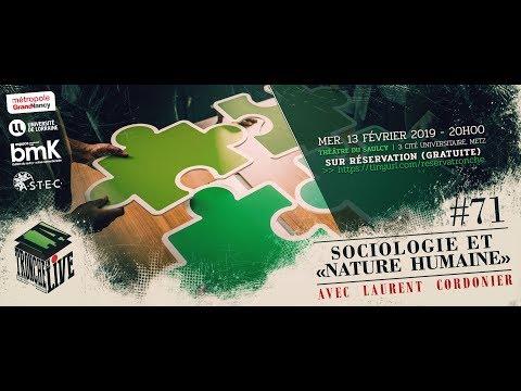 """Sociologie et """"nature humaine""""  (TenL#71)"""