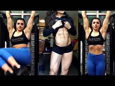 Her muscles look incredible 😍 from YouTube · Duration:  6 minutes 45 seconds