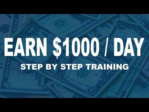 Best Way To Make Money Online As Broke Beginner ($1000 Per Day) Step By Step