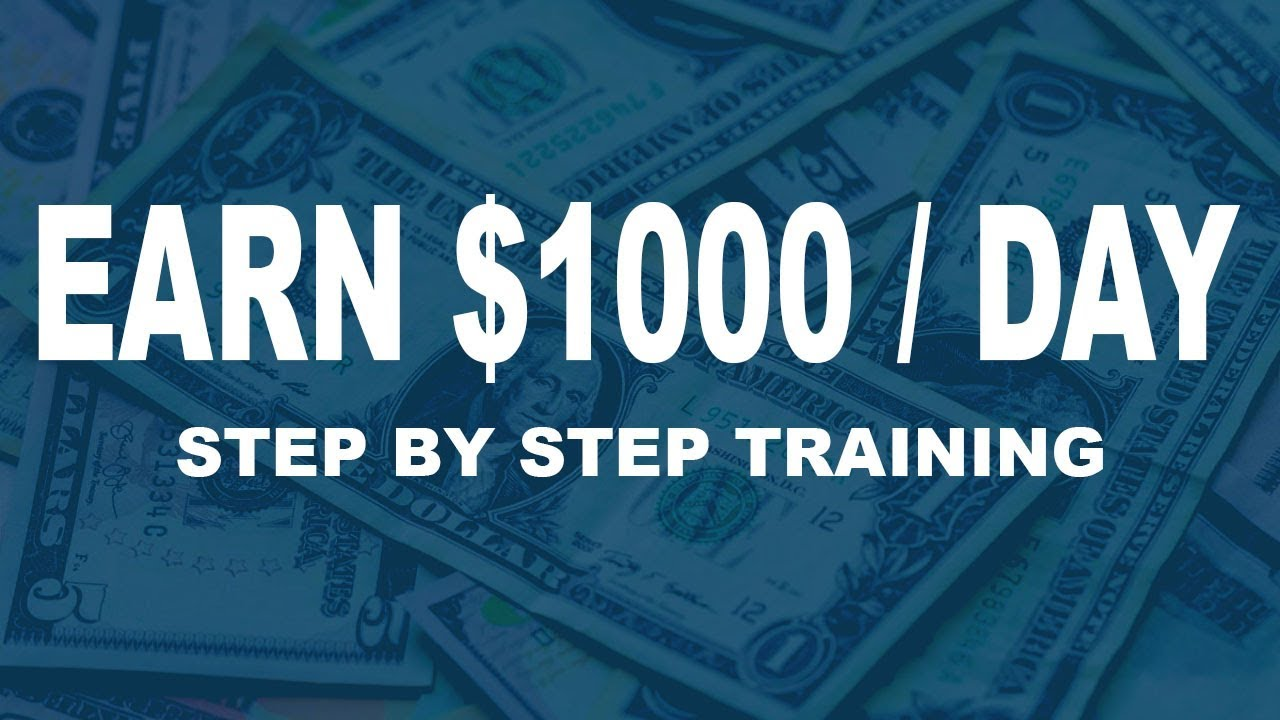 Best Way To Make Money Online As Broke Beginner ($1000 Per Day) Step By Step