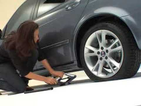 How To Change Your Tire Alone Youtube