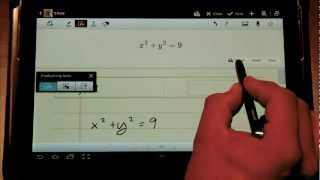 S Note Tutorial on Jelly Bean Note 10.1 (Android 4.1)