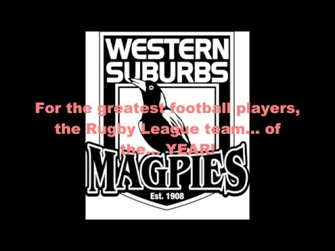 Western Suburbs theme song (Lyrics)