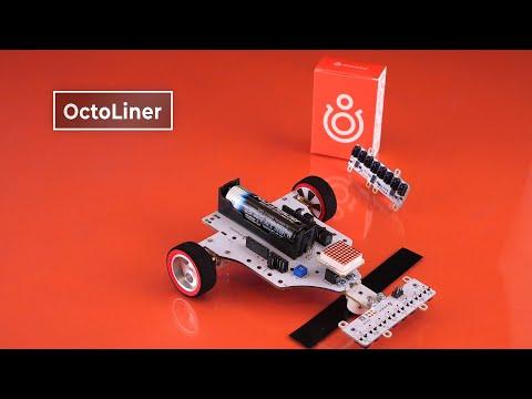 Восьмиканальный датчик линии для гоночных роботов на Arduino и Raspberry. Железки Амперки
