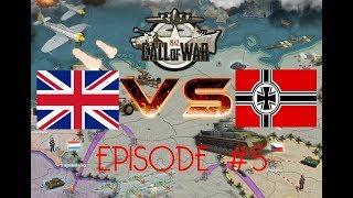 Call of War 1942 UK VS Germany, Days 6-10, EP5