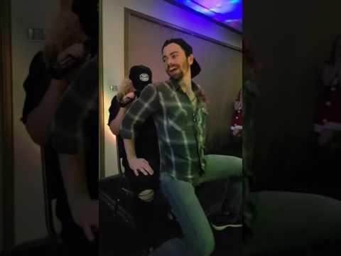 Matt Cohen and Briana Buckmaster - Karaoke Pony - AHBLXMAS2