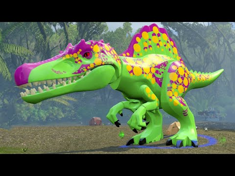 LEGO Jurassic World - A look at the Custom Dinosaur Creator & Dinosaur Gameplay