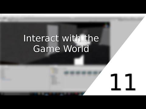 [UNITY 5] [11] Beginner Tutorial: Horror-Game - Interact