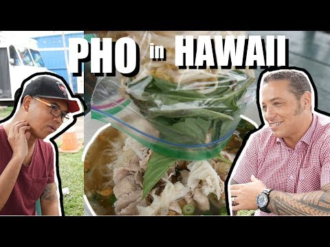 He Wanted to Tattoo Me! Tattoo Artist in Hawaii LOVES Vietnam + Pho in Oahu