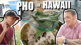 He Wanted to Tattoo Me! Great Hawaiian Tattoo Artist LOVES Vietnam + Pho in Oahu