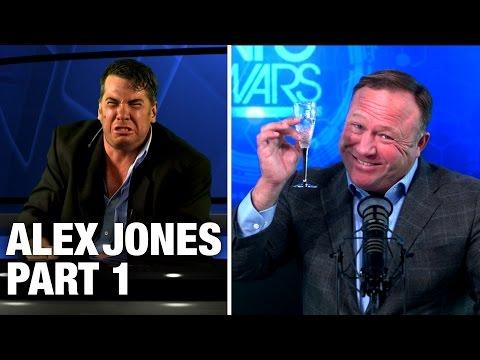 Alex Jones Crashes The Young Turks! PART 1