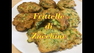 Frittelle di zucchine in pastella buonissime - Ricetta tasty and easy