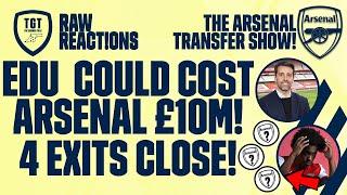 The Arsenal Transfer Show EP117: Bissouma, Willian, Nketiah, Lacazette & More!