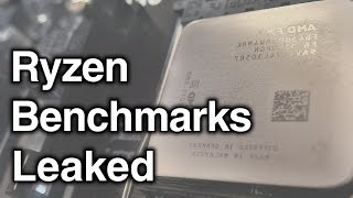 Ryzen Leaked Benchmark | On Par With i5 6600k In GAMING!