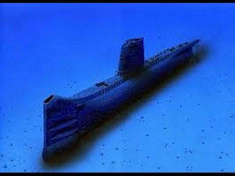 Sous marin qui plonge